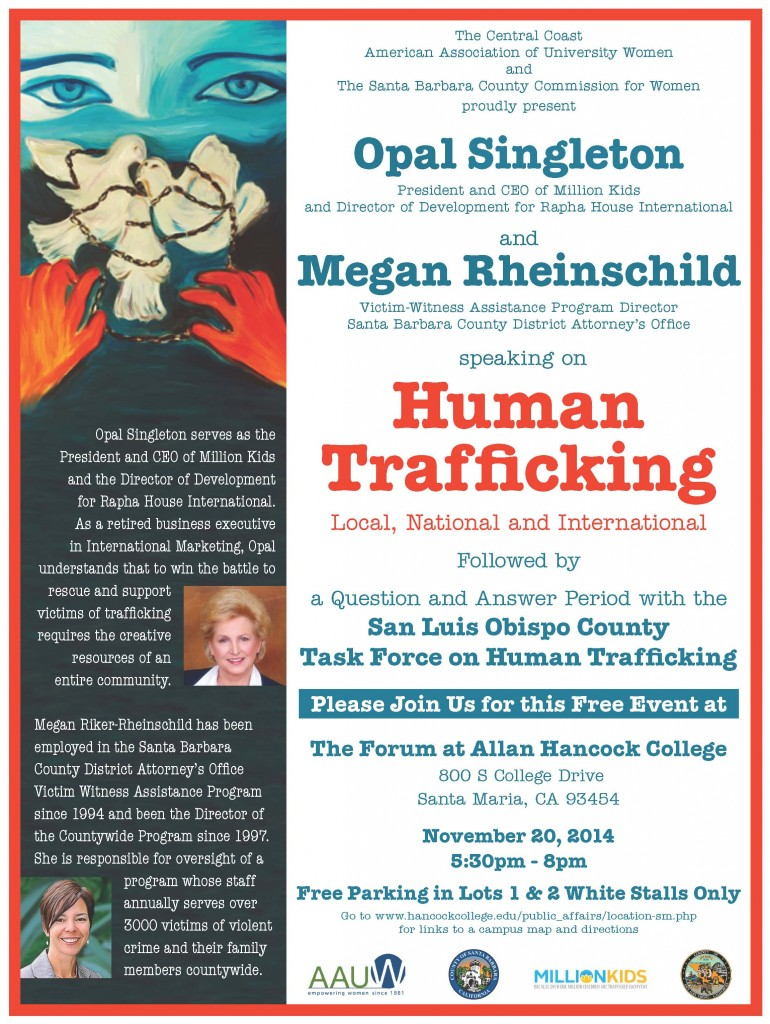 Human Trafficking Flyer 8.5x11b